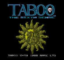 220px-Taboo_-_The_Sixth_Sense_Title_Screen